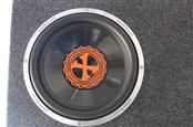 "POWER BASS Car Speaker Cabinet 12"" SUBWOOFER"